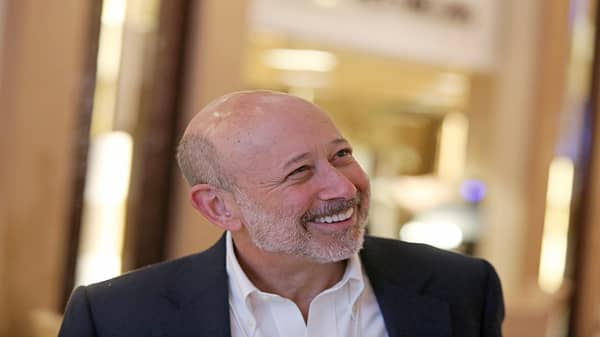 Goldman Sachs CEO Lloyd Blankfein on his succession plans