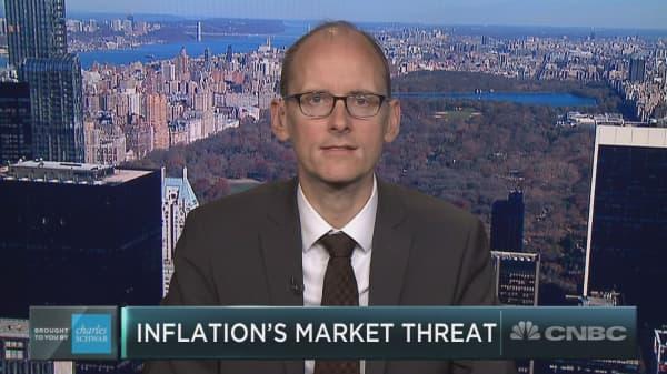 Deutsche Bank highlights inflation as notable market risk