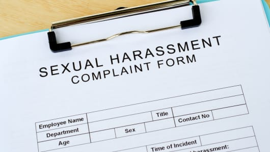 Sexual harassment report forms