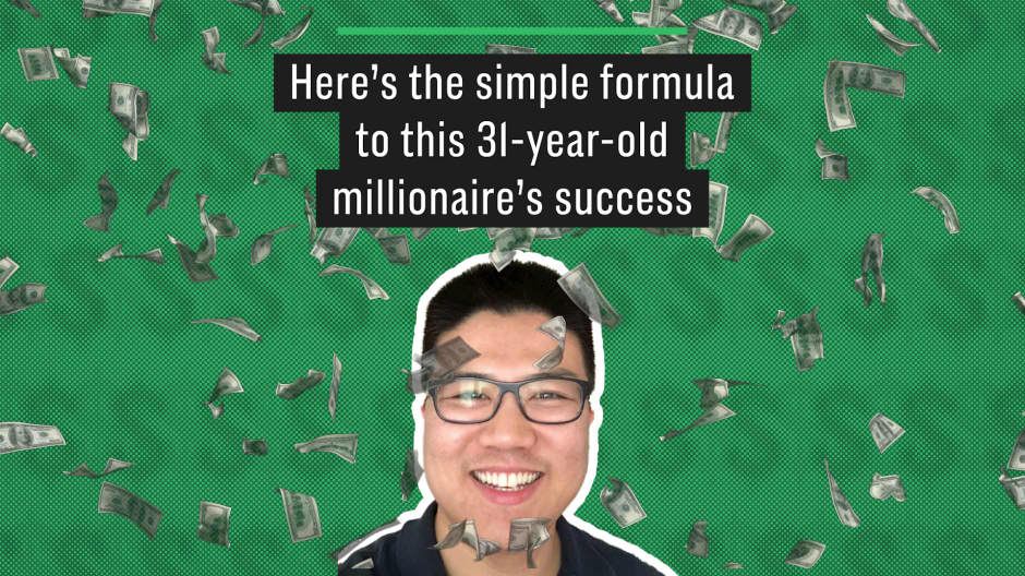 Here's the simple formula to this 31-year-old millionaire's success