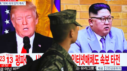 Trump says unless North Korea summit 'fruitful' he'll pull out