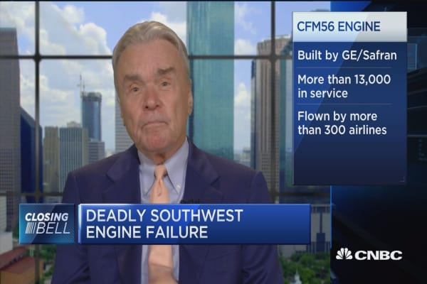This engine failure accident was not commonplace, says fmr. Continental CEO