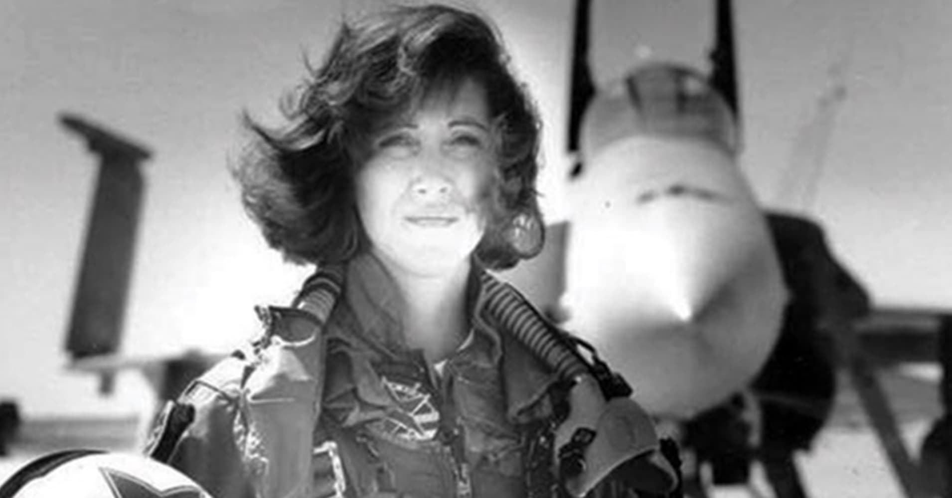 Tammie Jo Shults in a photo from the 1990s.