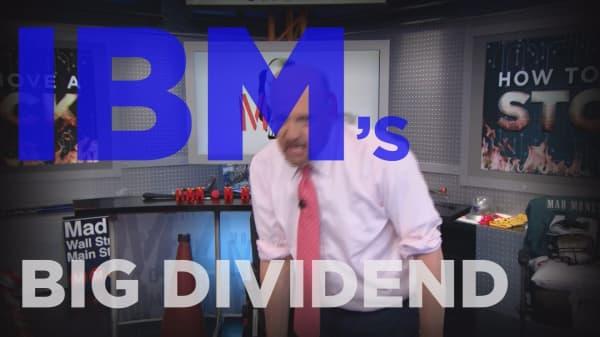 Cramer Remix: Wall Street's big problem with IBM's stock