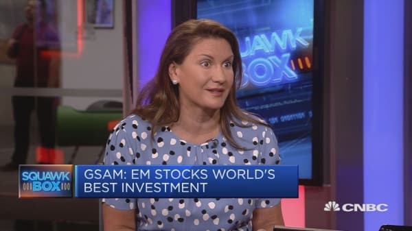 GSAM CEO on trade noise: Our clients are 'looking right through it'