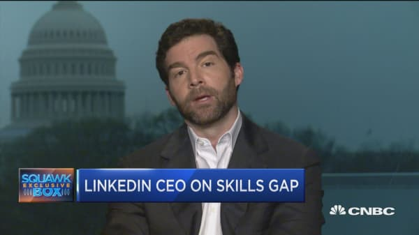 LinkedIn CEO: Study shows communications the number one skills gap across major cities in US