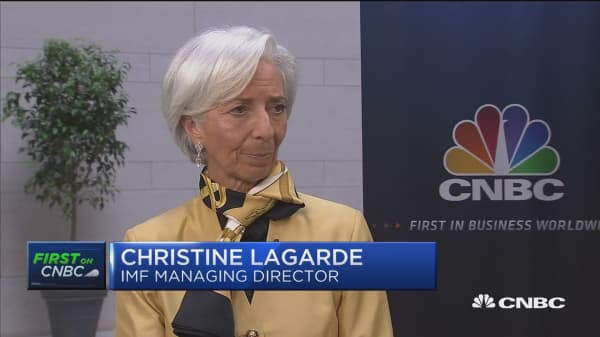 Christine Lagarde says trade issues should be resolved multilaterally. Here's why