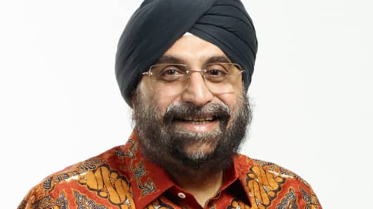 Satinder Pal Singh Ahluwalia, Bank Danamon Chief Financial Officer.