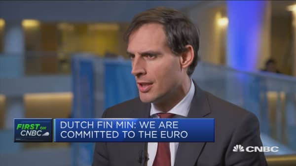 Dutch finance minister: In favor of European banking union