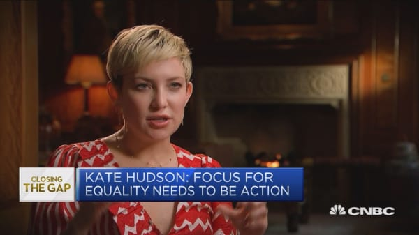 Kate Hudson: I'm angry there aren't enough women on boards
