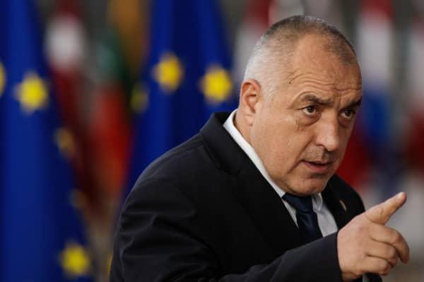 Bulgaria's Prime minister Boyko Borissov.