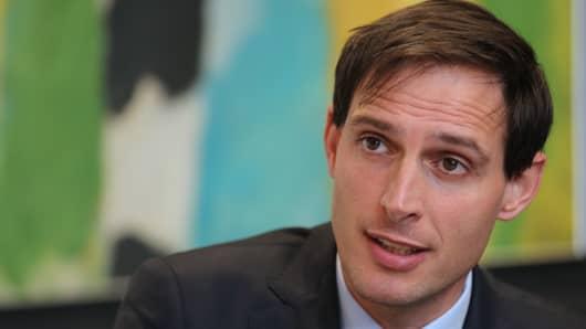 Wopke Hoekstra, Dutch finance minister.