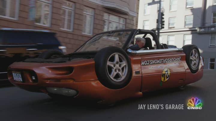 Jay's going over the top on an all new episode of Jay Leno's Garage