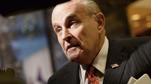 Rudy Giuliani, former mayor of New York