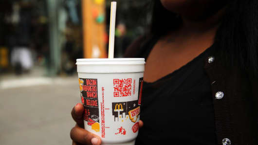 McDonald's is rolling out paper straws across its 1,300 UK locations in May, but environmental activists say consumers make a better decision when not using a straw at all.