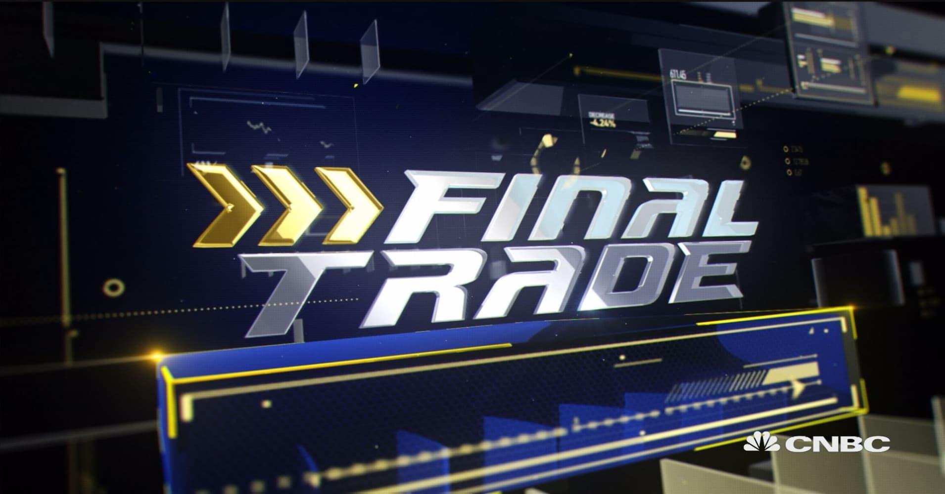 Final Trade: HAL, AAPL & more