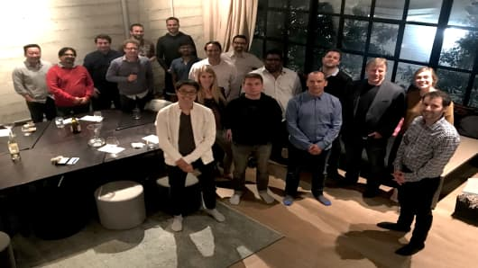 Alpha Bridge is also hosting regular dinners with entrepreneurs to introduce them to its investing philosophy and share information about Project Atlas.