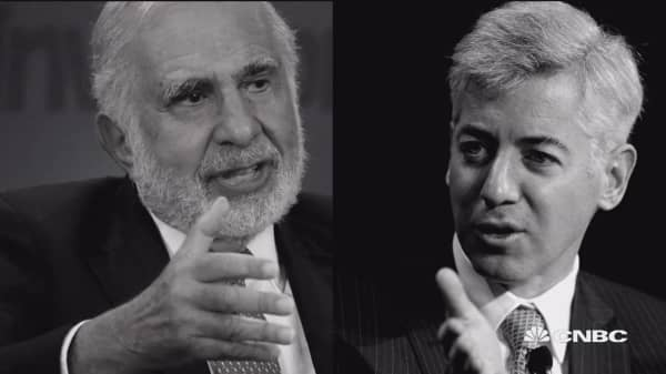 Clash of the investment titans: The Icahn-Ackman saga