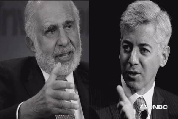 Clash of the investment titans: The Icahn-Ackman saga