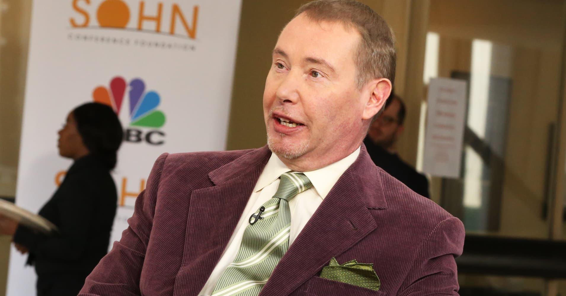 Gundlach's warning on 'ocean of debt' adds to worries over corporate bonds