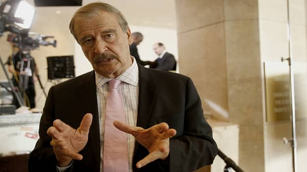 NAFTA good for US, Mexico, and Canada, says former Mexican President Fox