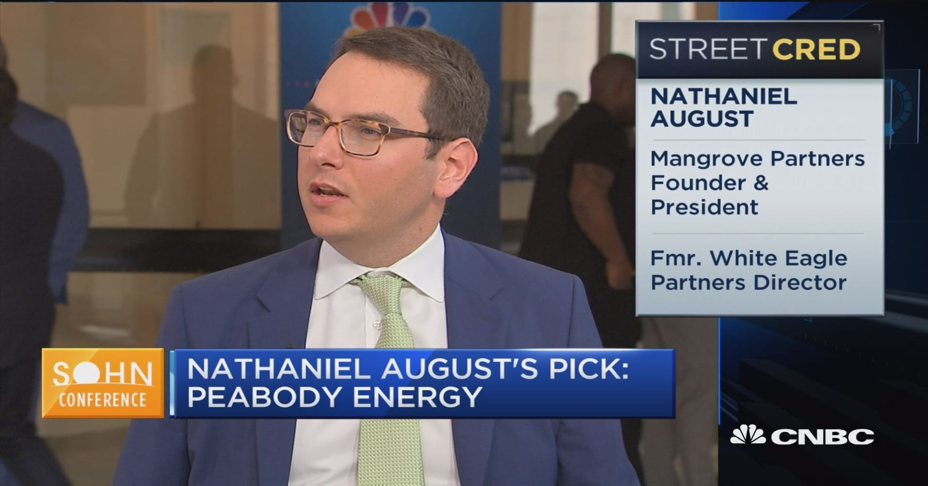 Mangrove Partners\' Nathaniel August on his best idea at Sohn