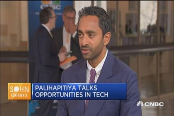 Chamath Palihapitiya would not sell Facebook over data flap