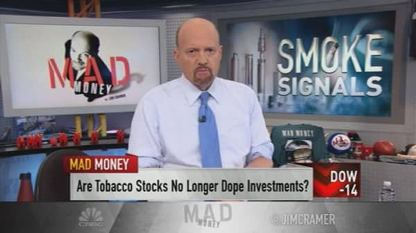 Cramer: Vaping is decimating the cigarette industry—and it could get even worse