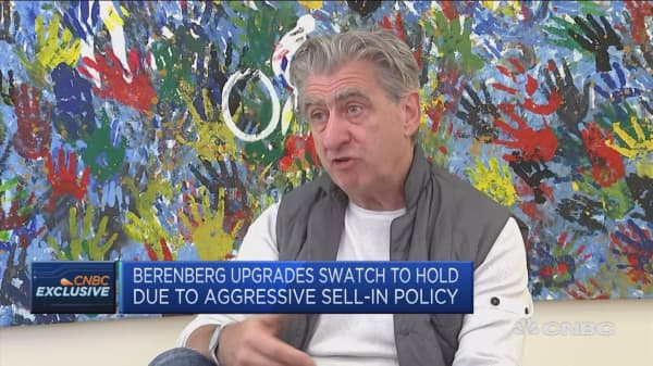 Forced to keep prices due to Swiss franc strength: Swatch Group CEO