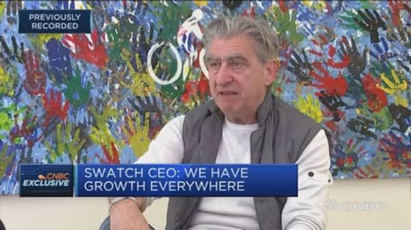 Chinese consumer never disappeared: Swatch Group CEO
