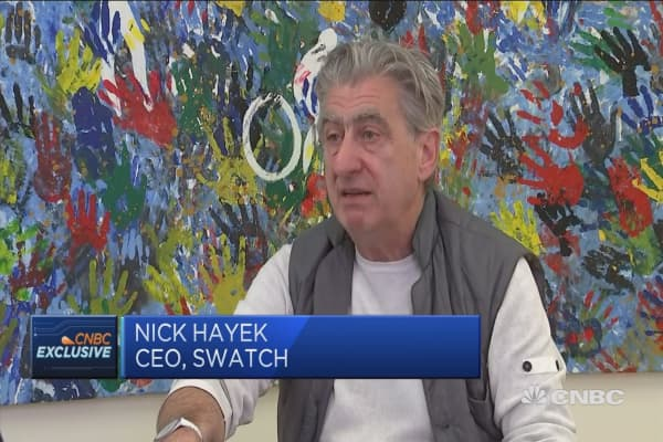 Alibaba, not Amazon, is fighting against fakes: Swatch CEO