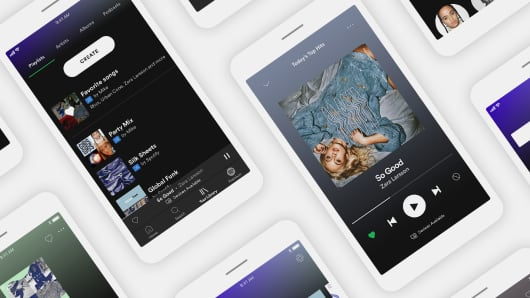 Spotify announced a new free version of its service on April 24, 2017, its first update to the free experience since 2014.