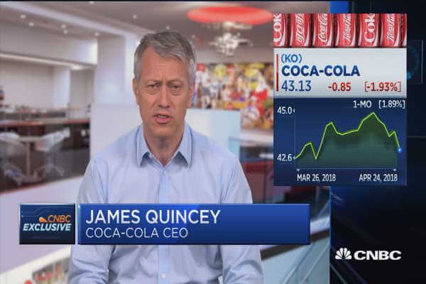 Coca-Cola CEO: We're growing in all the categories we compete in