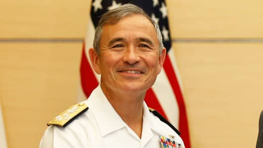 Commander of the US Pacific Command, Admiral Harry Harris
