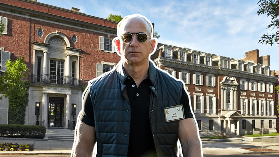 Jeff Bezos Renovation Plans For His Washington D C Mansion