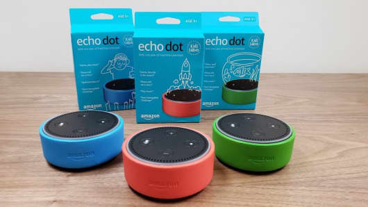 The Amazon Echo Dot Kids Edition