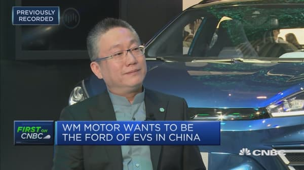 Getting electric vehicles to the mass market in China means the middle