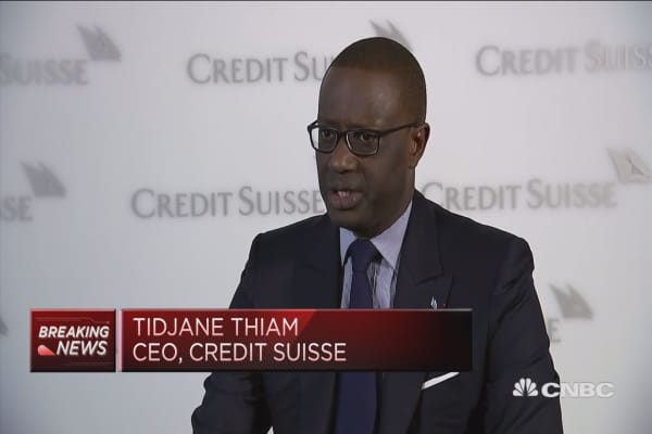 We've compeltely transformed earnings profile of Credit Suisse, says chief executive