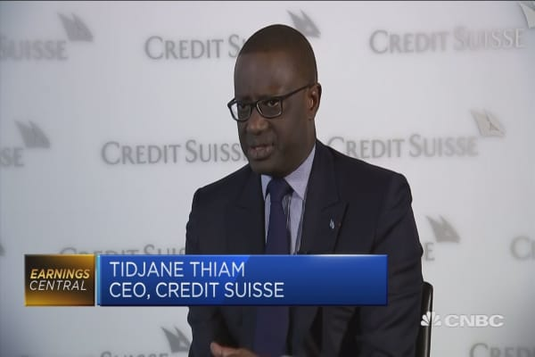 Capital market volatility here to stay: Credit Suisse CEO