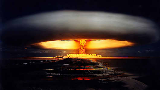 Operation Unicorn nuclear test, May 22 1970.