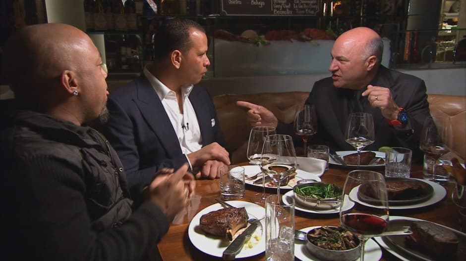 Kevin O'Leary on dining with 'Sharks'