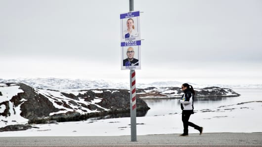 Many in Greenland see its future as independent from Denmark
