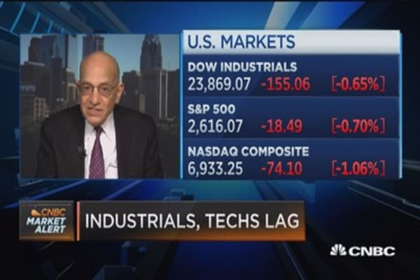 Markets are having an interest rate problem here, says Wharton's Jeremy Siegel