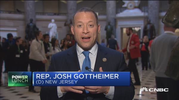 Rep. Gottheimer: Outrageous the tax bill is adding $1.5 trillion to deficit