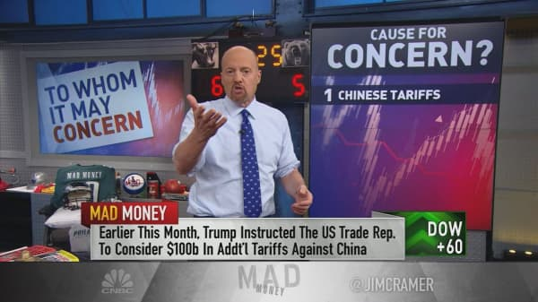 Cramer: Market volatility is a chance to reevaluate your portfolio. Not run out and buy more