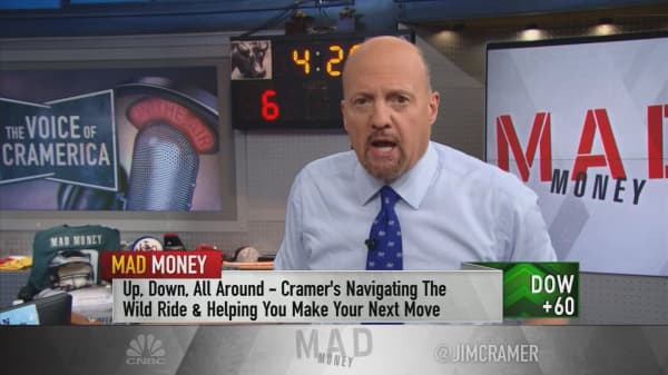 Cramer's strategy for dealing with market volatility