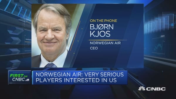 More than one party interested in Norwegian Air: Chief executive
