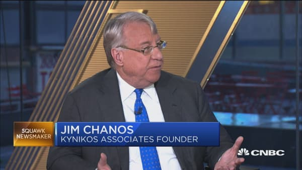 Jim Chanos on Tesla's 'stunning' accelerated rate of executive departures