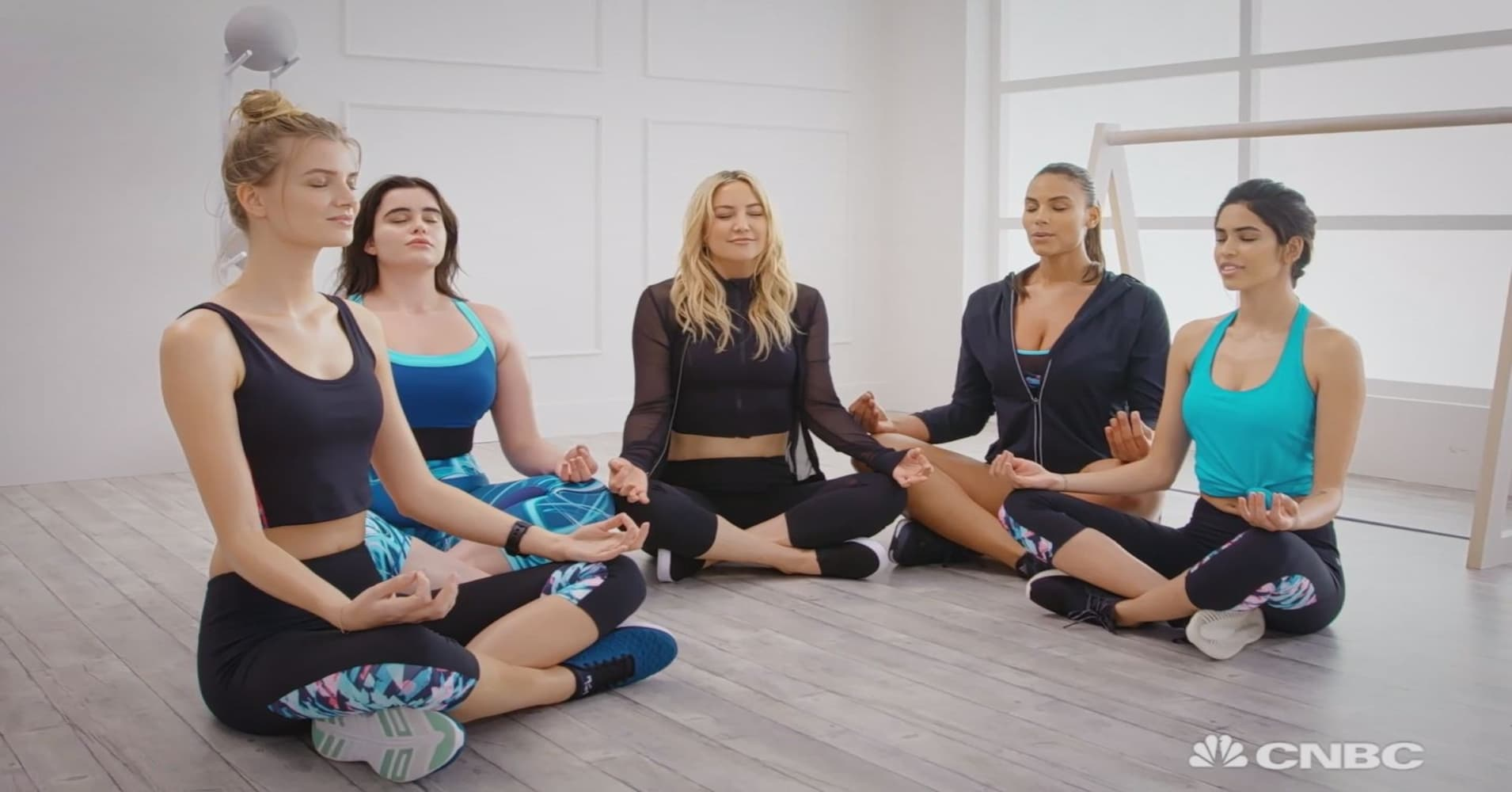0dde681240 Actress Kate Hudson on her sportswear brand Fabletics' London expansion
