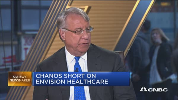 Chanos: Winter is coming to US health care system